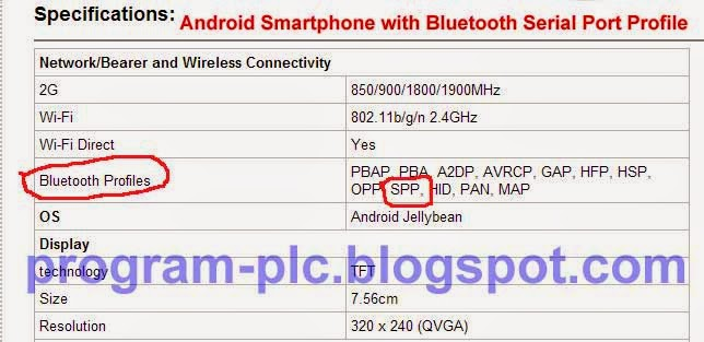 Bluetooth Profile SPP