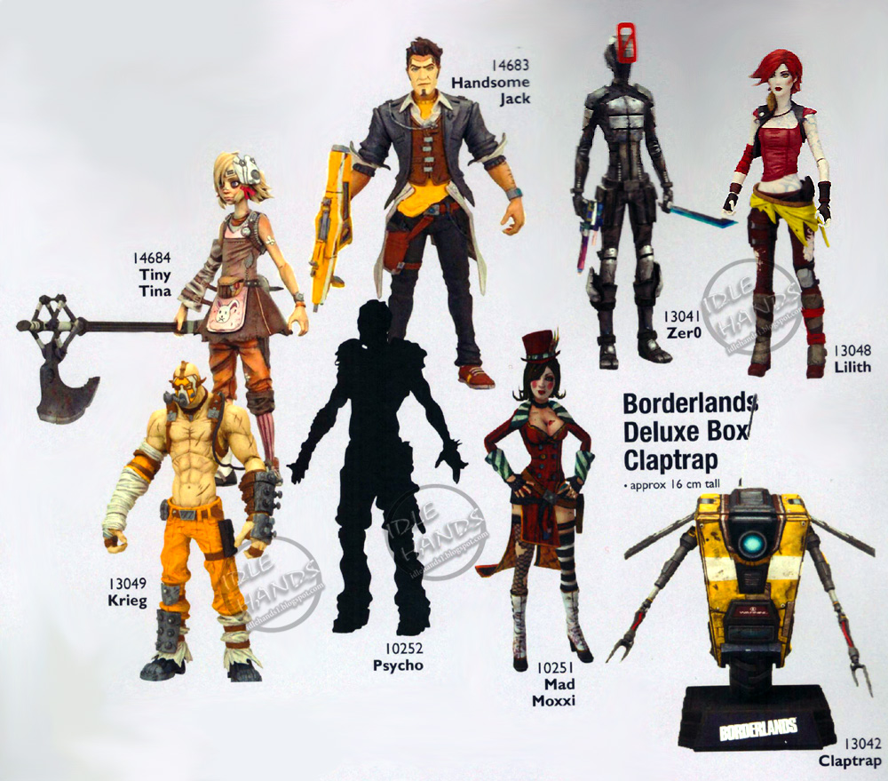 Borderlands Living Room Set