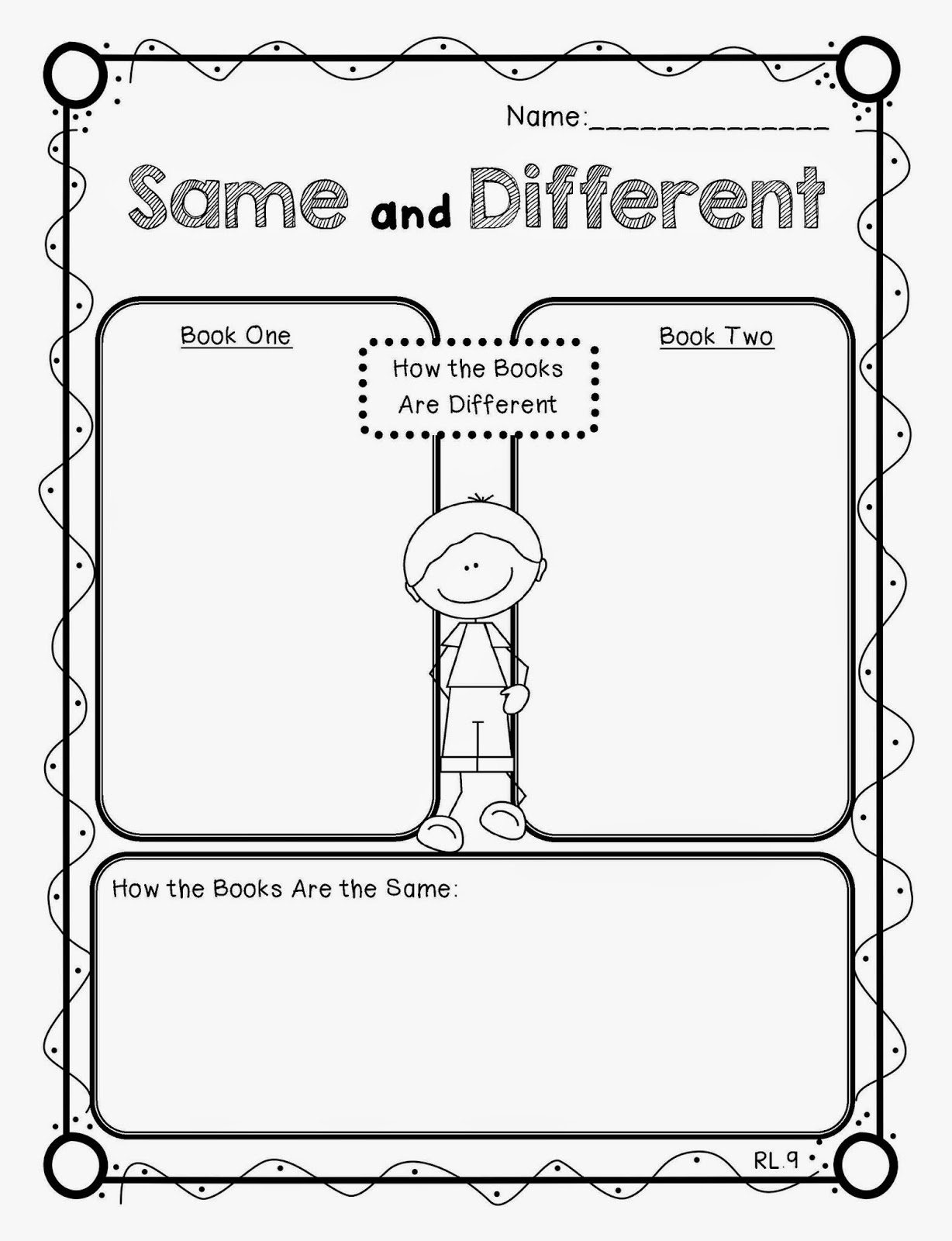 compare and contrast picture books