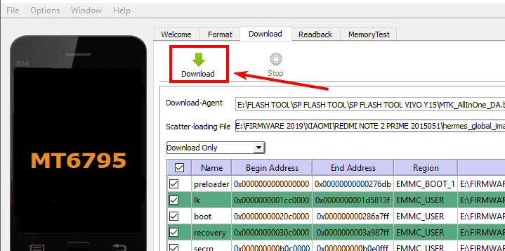 Vivo 1806 Flash File Download
