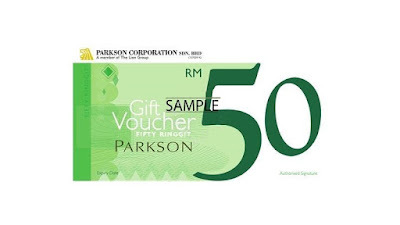 Parkson Gift Voucher Discount Offer Promo
