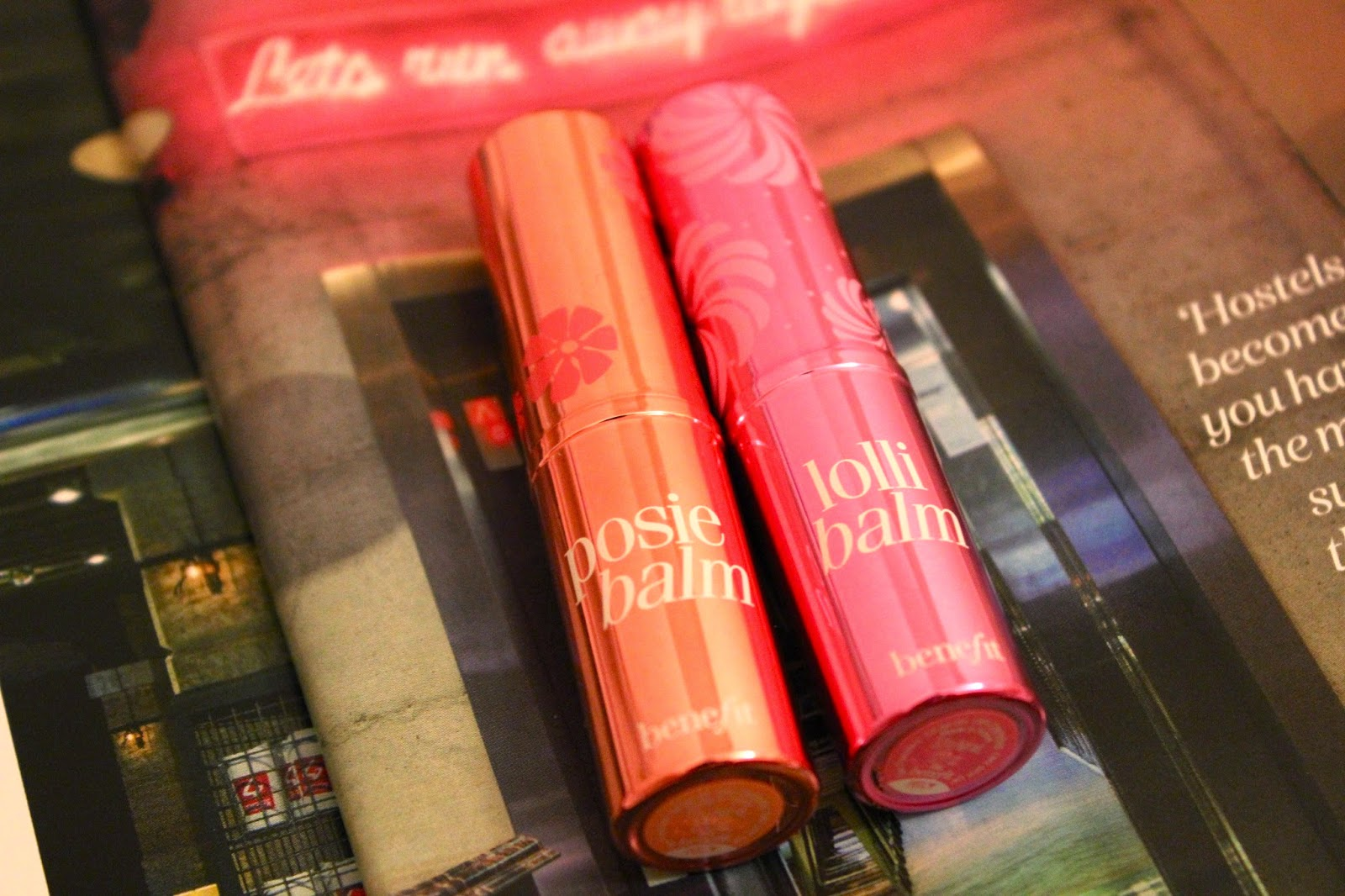 Benefit Posiebalm & Lollibalm Tinted Lip Balms Review Girl Culture