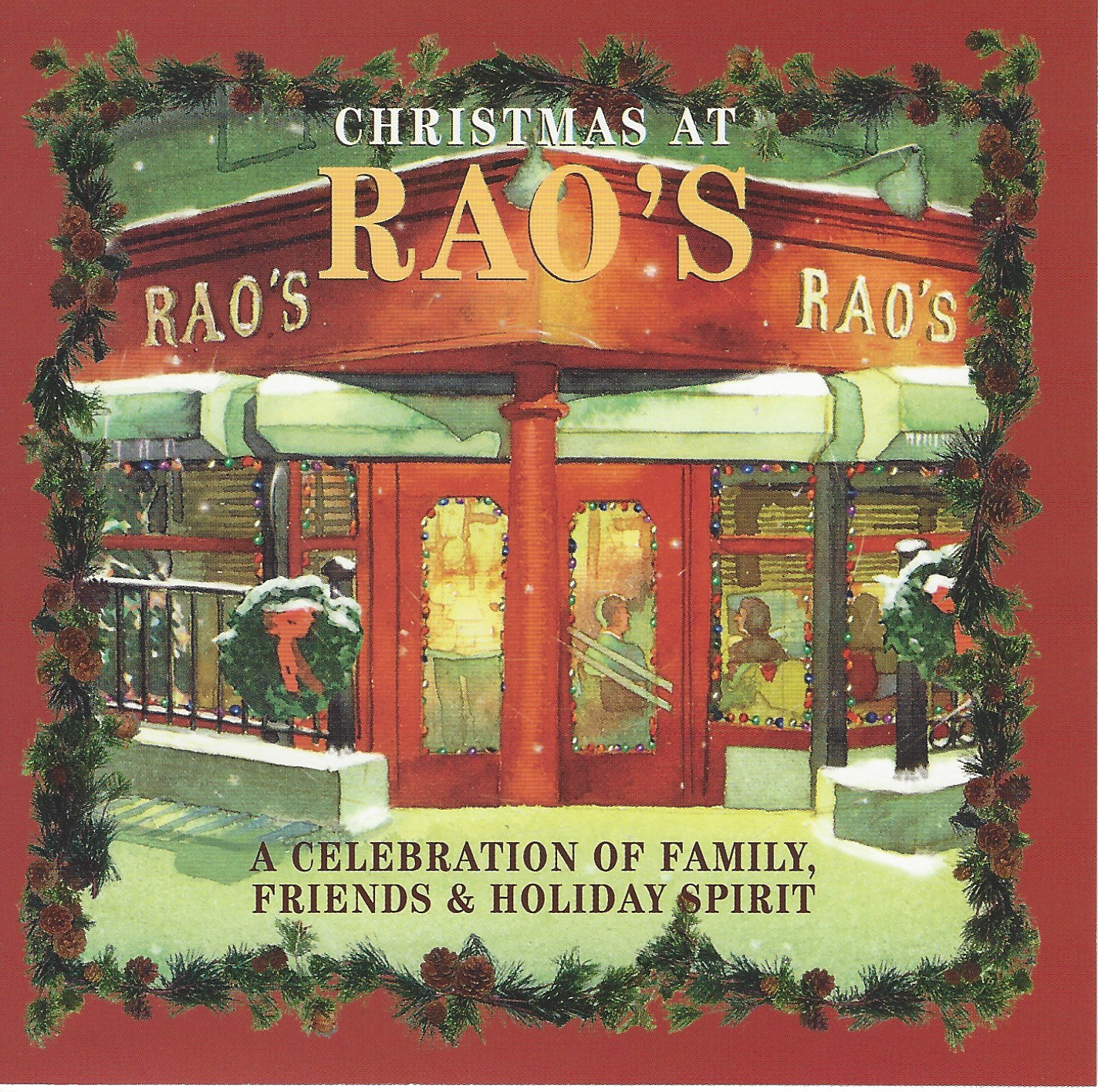 christmas at raos is a really great collection of christmas songs including frank pellegrino louis prima dion tony bennett and jerry vale - Italian Christmas Music