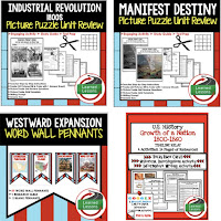 Western Expansion, Manifest Destiny, Google Activities, American History Timelines, American History Word Walls, American History Test Prep, American History Outline Notes, American History by President Research, American History Mapping Activities, American History Biography Profiles, American History Interactive Notebooks