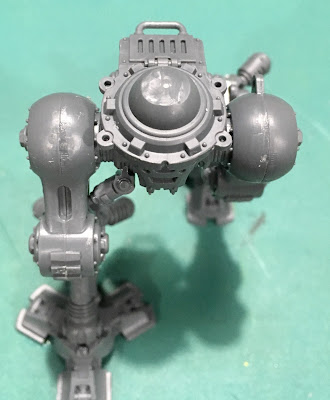 Imperial Knight Armiger Warglaive WIP Magnets