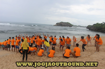 Outbound Pantai Sundak Gunung Kidul, Paket Outbound Pantai Sundak