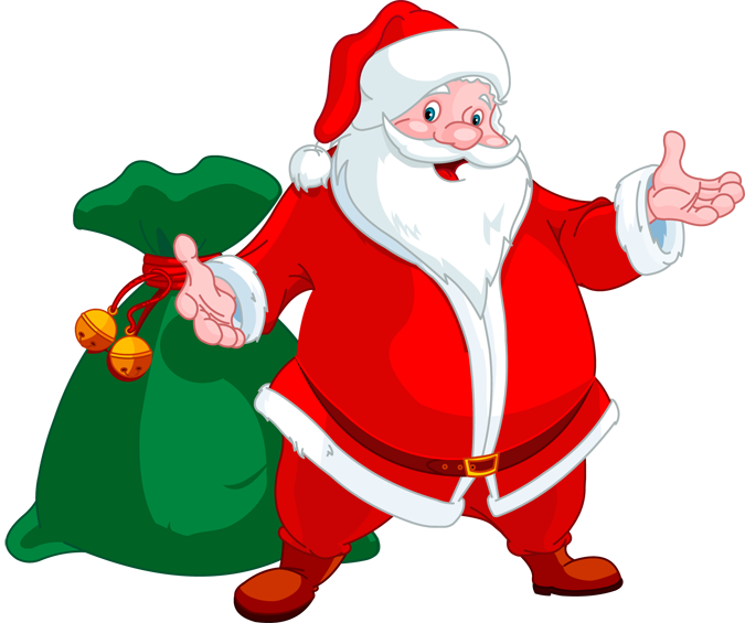 santa bag clipart free - photo #25
