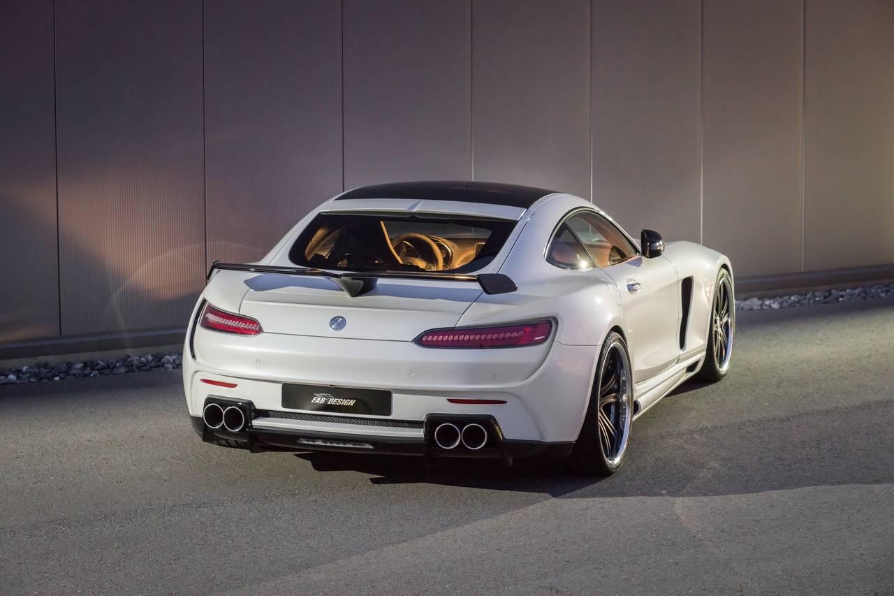 Bản độ Mercedes AMG GT S Areion 690 mã lực bởi FAB Design