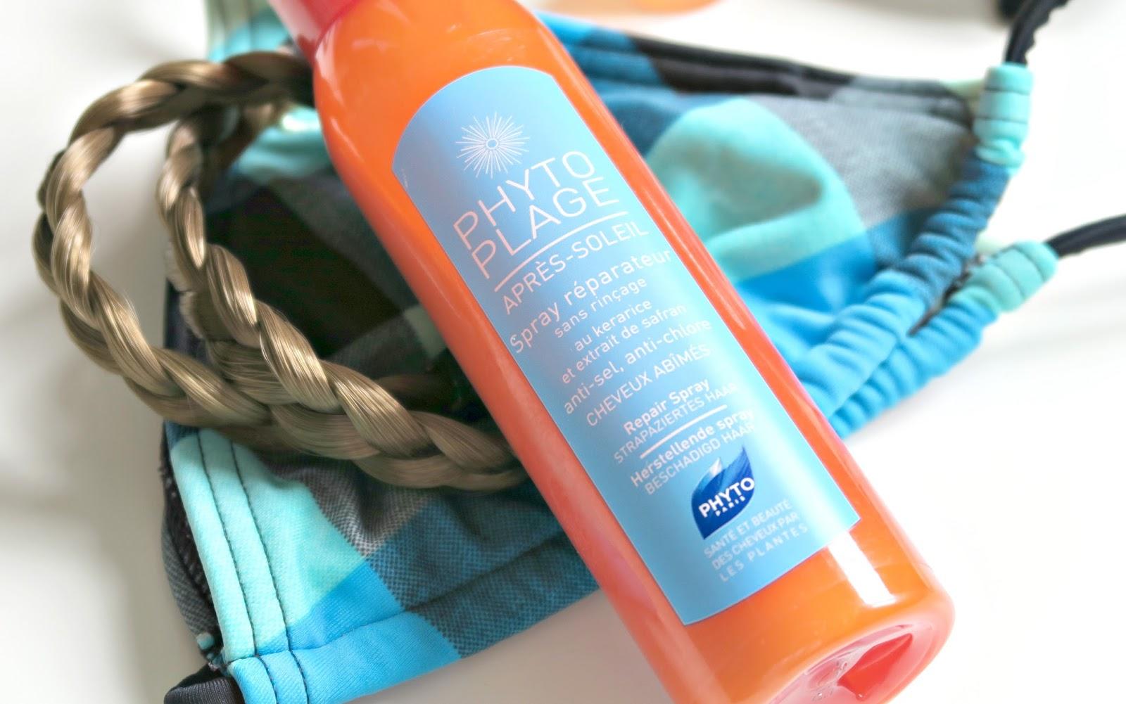 soin cheveux après-soleil phyto plage sans rincage