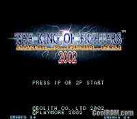 The king of figthers 2002