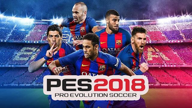 لعبة PES 2018 PRO EVOLUTION SOCCER اخر اصدار مهكرة للأندرويد