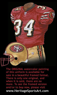 San Francisco 49ers 2005 uniform