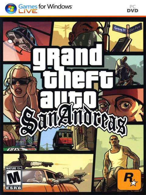 تحميل لعبة GTA San Andreas مضغوطة برابط واحد مباشر + تورنت كاملة مجانا