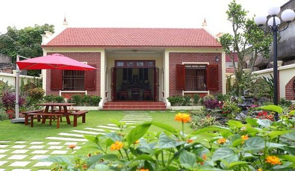 Nguyên tắc chung khi trang trí nhà ở nông thôn