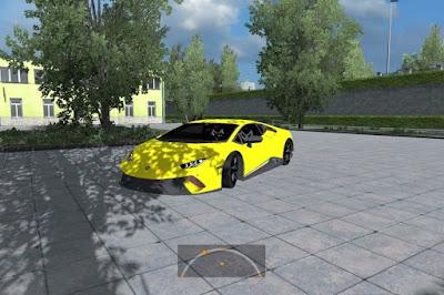 Lamborghini Huracan - ETS2 V1.34