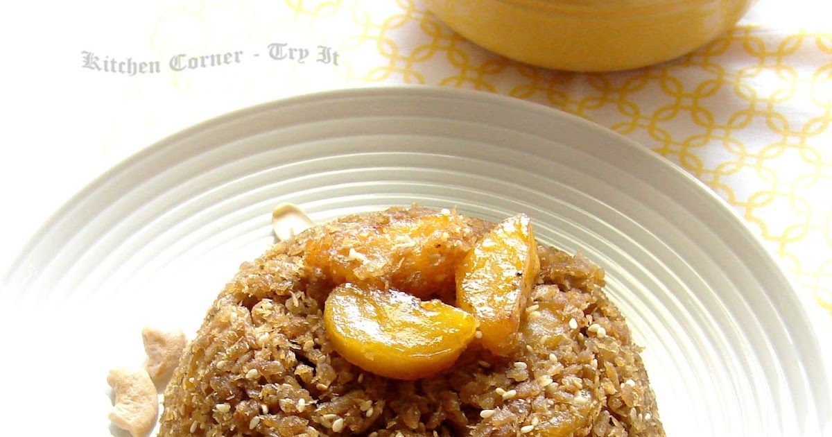 Caramelized Sugar Rice Cakes Recipe