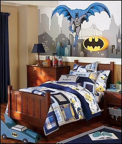 Habitación tema Batman