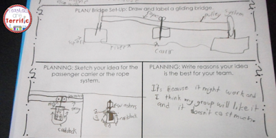 STEM Challenge: Take a look at the way this student planned and thought about his design. This is part of my Summer STEM Series!