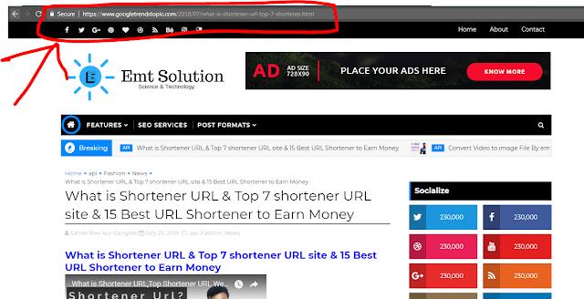 make shortner by emt solution youtube