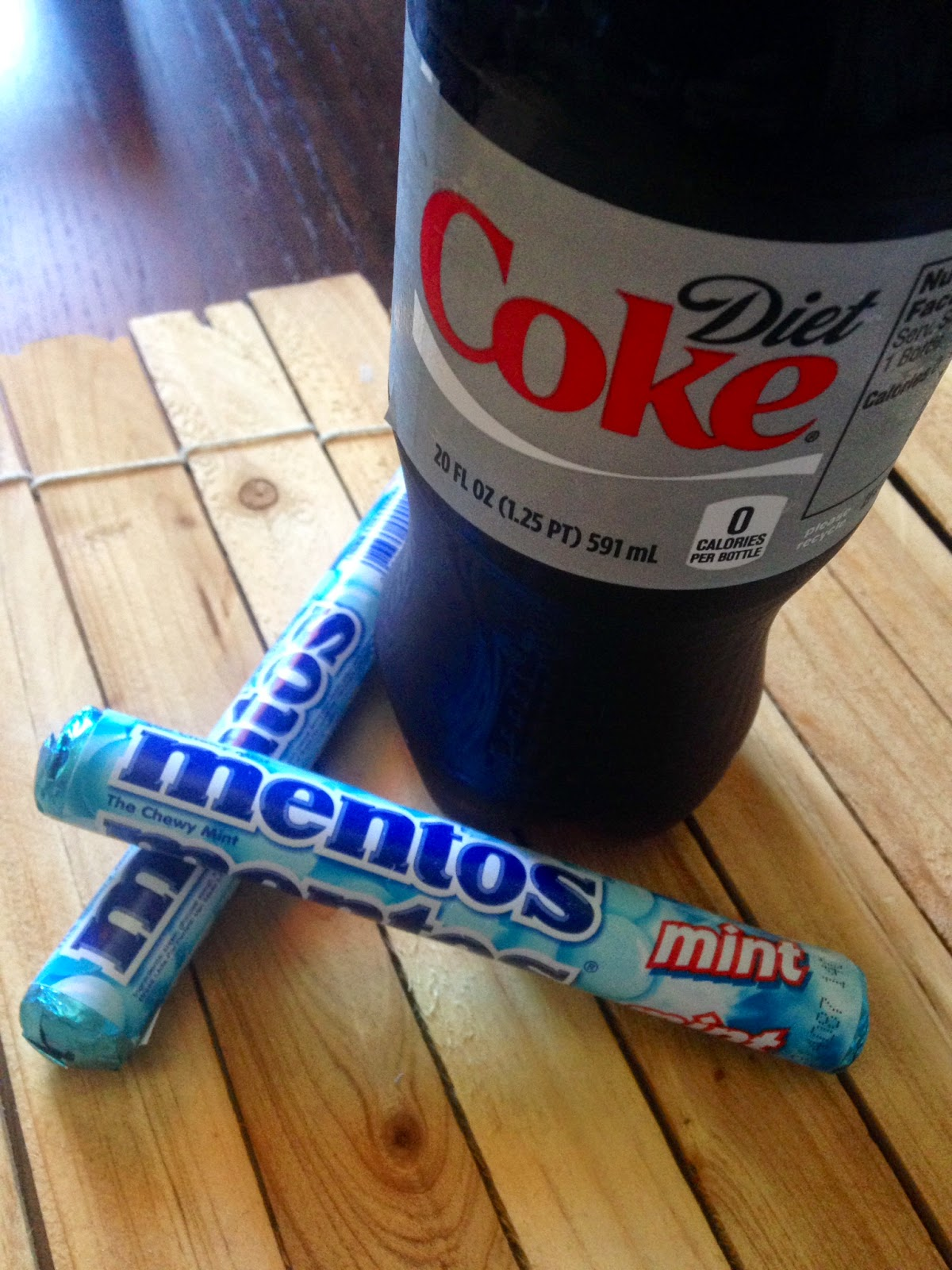 Diet Coke and Mentos eruption - Wikipedia |Coke And Mentos