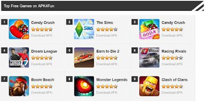 Apk4fun (Aplikasi alternatif pengganti google play store)