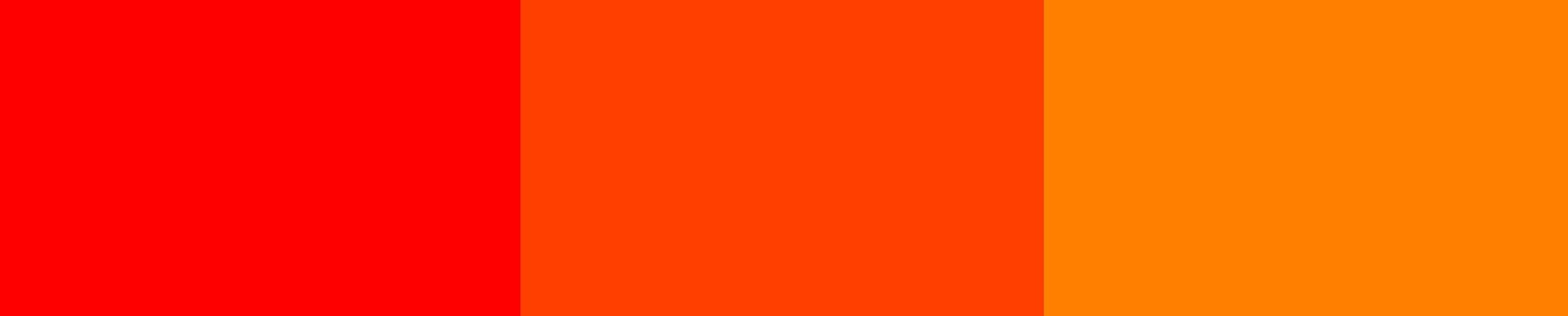 Red Orange When Selecting Your Color Schemes