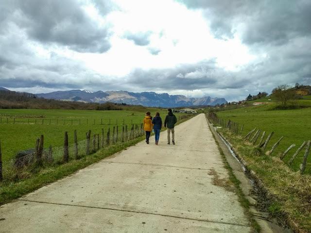 Paisajes de los caminos de Aldatz