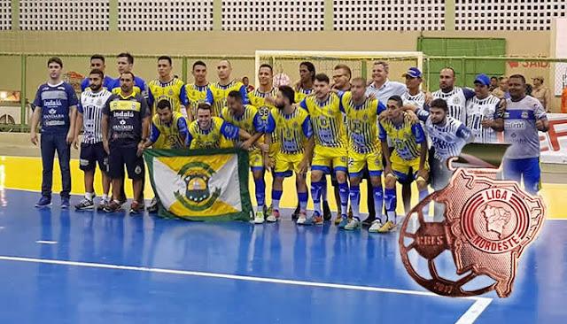 Horizonte bate o Brejo/PB fora de casa é Tetracampeão do Nordeste de Futsal