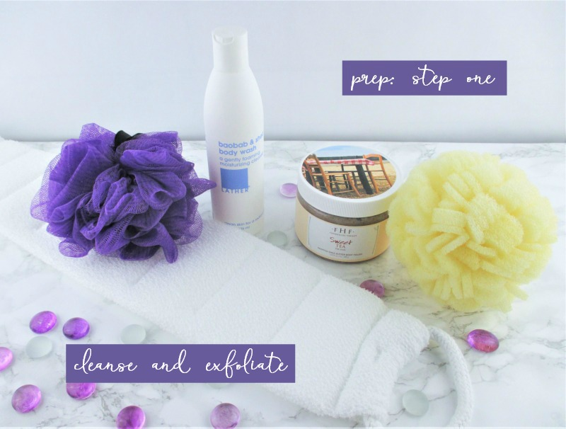 A Step By Step Guide to a Glowing and Safe Summer Tan Prep Step One