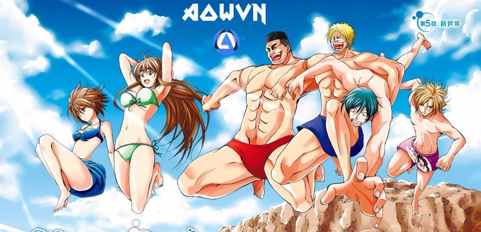 Grand%2BBlue%2B %2BPhatpro%2B%25281%2529 min - [ Anime 3gp Mp4 ] Grand Blue | Vietsub - Siêu Bựa - Cười Đau Bụng - Mùa Hè Mát Rượi!