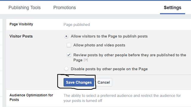 image 5 compressed - Secret Guide: How to Stop Visitor Posts on Facebook Business Page