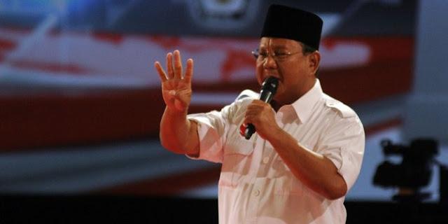 Prabowo diprediksi pilih di belakang layar dalam Pilpres 2019