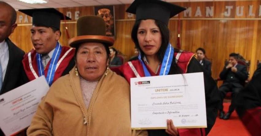 PRONABEC: Beneficiarios de la región Puno alcanzan su sueño de ser profesionales - www.pronabec.gob.pe