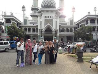 Masjid Jami Malang Dari Alun-alun Kota Malang