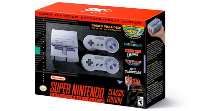 Super Nintendo é Relançado
