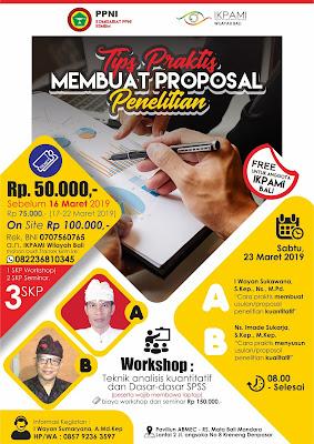 Desain Poster Seminar dan Workshop PPNI
