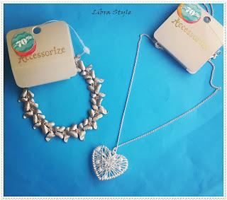 accessorize alışveriş, accessorize takı, bilekilk, kalp kolye, heart neckle, takı, indirimli takı,