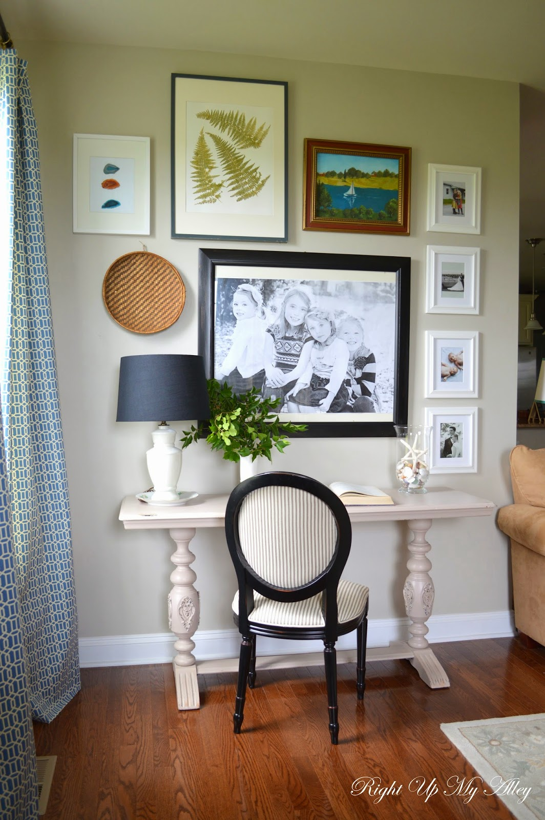 Gallery: Right Up My Alley: Family Room Gallery Wall