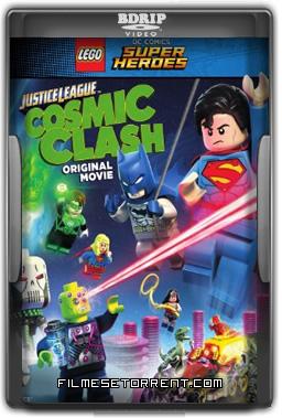Liga da Justiça Lego - Combate Cósmico Torrent Dublado