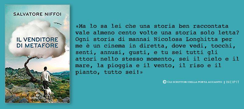 Il venditore di metafore, di Salvatore Niffoi - Gli scrittori della porta accanto