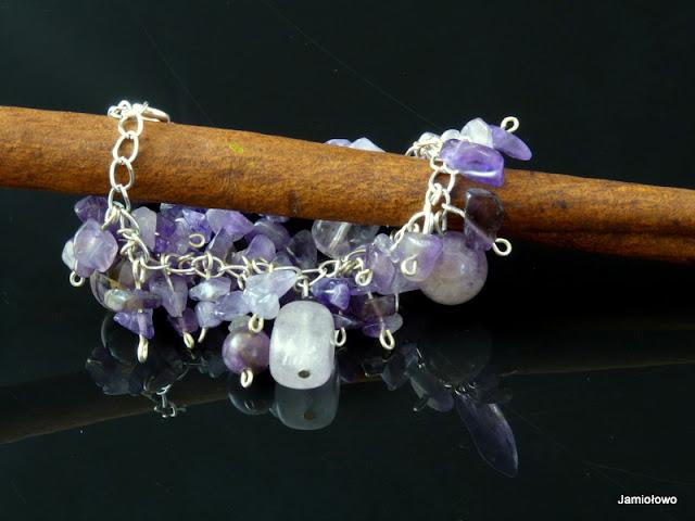 biżuteria z kamieni naturalnychręcznie robiona