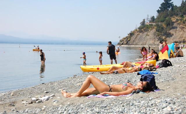O que fazer na Praia Bonita em Bariloche