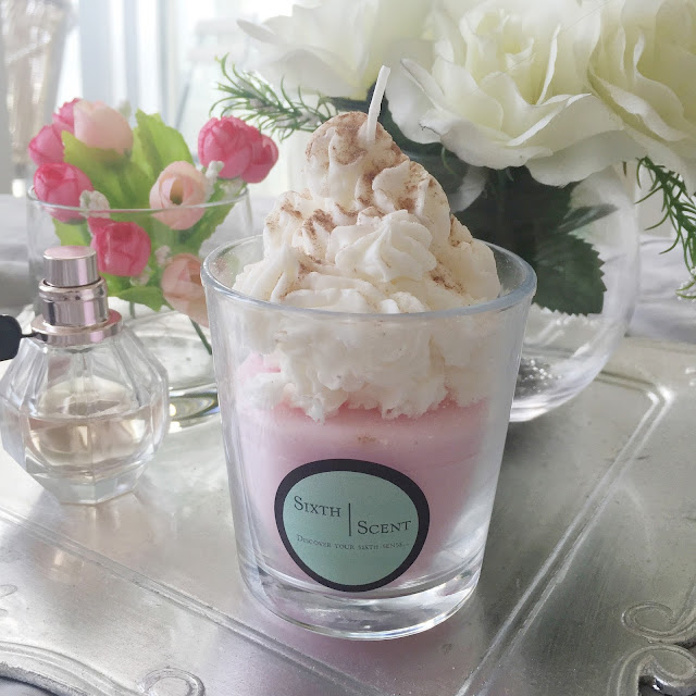 Sixth Scent Strawberry Shortcake Candles