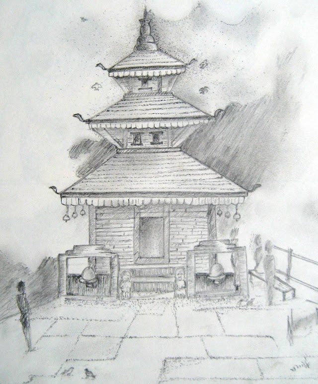 Sketches of Temples