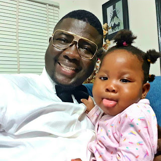 BZGZl4hh3 g - ENTERTAINMENT: Seyi Law shares lovely photos with daughter