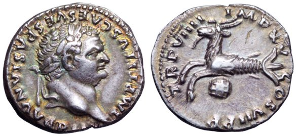 denario Tito Pompeya