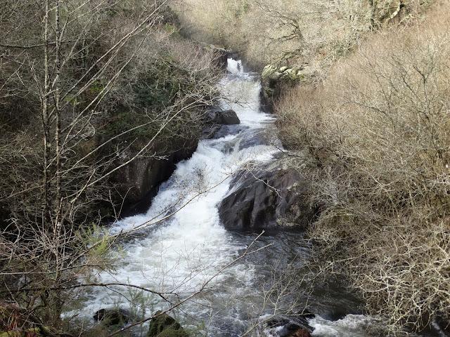 Cascadas de Portociños en Tordoia