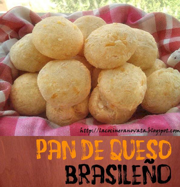 Pan de queso brasileño la cocinera novata fecula de yuca mandioca tapioca celiaco celiaquia
