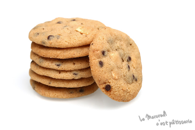 Cookies au chocolat blanc de Laura Todd