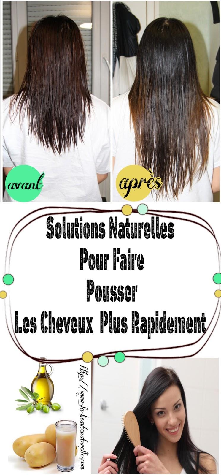 Solutions Naturelles Pour Faire Pousser Les Cheveux Plus Rapidement